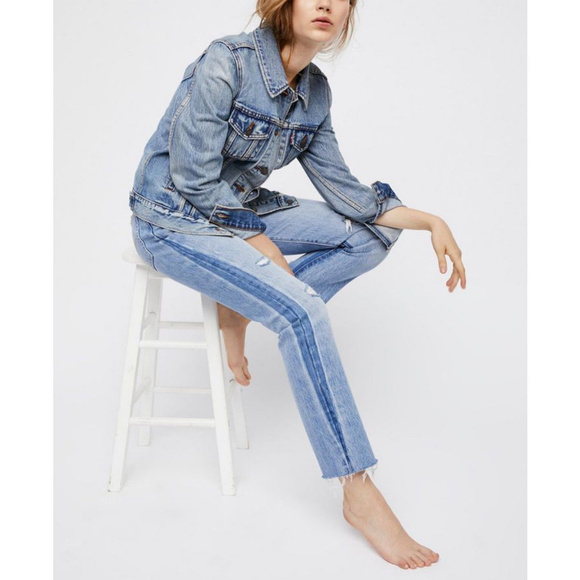 Free People Denim - Free People Levi's 501 You Pretty Thing NWT Sz 28